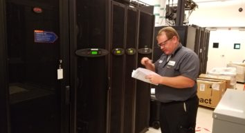 ISS Mechanical Service Technicians complete Schneider Electric / APC computer room equipment training